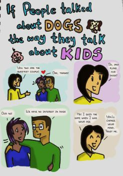 Dogs - Kids Page 1 by CyberPhantom