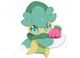 Shiny Fomantis