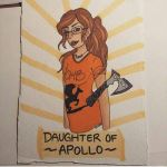 Daughter of Apollo by emarie-tostada