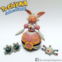 New Pokemon MAGEARNA (Clay Art)