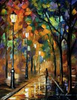 Vibrations by Leonid Afremov by Leonidafremov