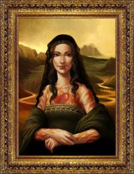 Mona Lisa by DanielaUhlig