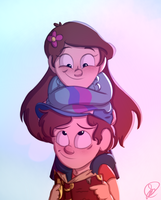 Mystery Twins by immaplatypus