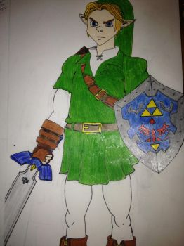 Link from The Legend of Zelda (6) by TehDeKlan
