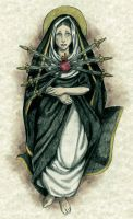 Our Lady of Sorrows by Muko-kun