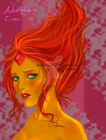 Flame Princess by Bluelikesgreen