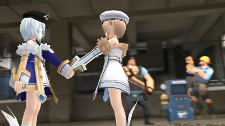 Blanc Meets Sophie In TF2 Universe [SFM] by TacticalCTUBlak