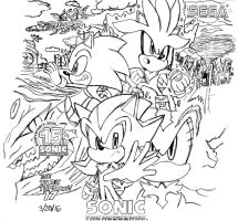 Sonic the Hedgehog (2006) Artwork (REDO!) by BlueTyphoon17