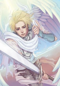 Anime Angels featured art - Battle Angel by animeangelsbook