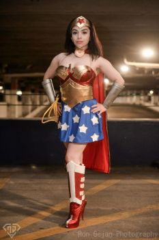 Kotobukiya Bishoujo Wonder Woman by miss-gidget