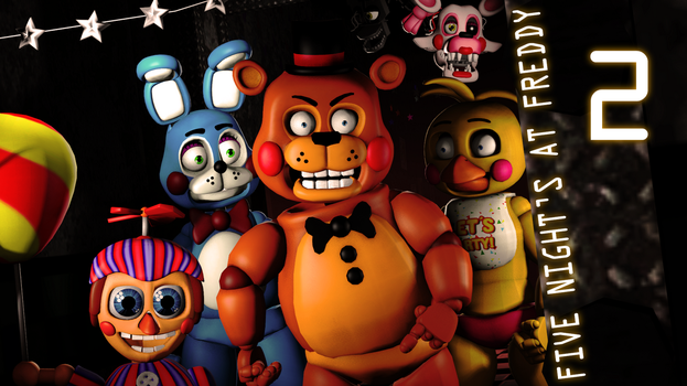 Five night's at Freddy's 2 by rhydonYT