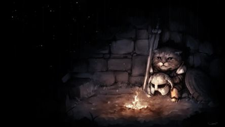 The saddest Khajiit by DarrenGeers