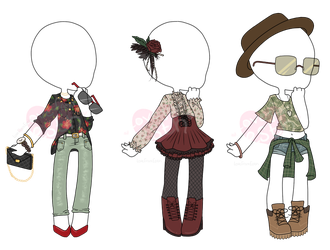 [OPEN 1/3] Outfit Adopts by LoveFromEsth