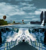 Messed up Island by bluemo0on