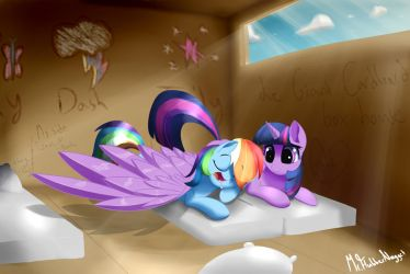 In a Big Cardboard Box... by A8F12Official