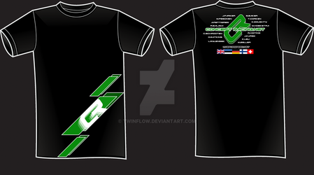 Concept Racing T-shirt 2010 F by TwinFlow