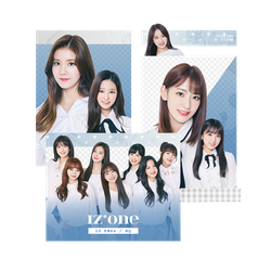 [IZONE] Profile Pictures - PNG PACK by TsukinoFleur