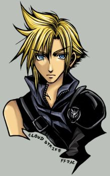 Cloud Strife : AC version by raykit
