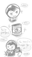 Bendy x Bacon comic by MariaCool1234