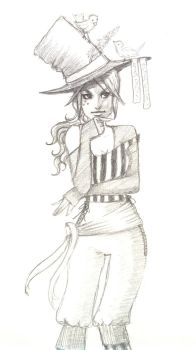 Mad Hatter by Nellihym