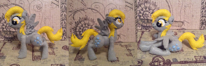 Derpy (felt doll) by MichelleBergeron