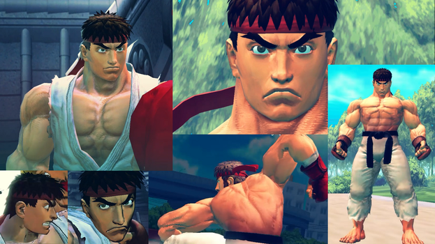 USF4 True Ryu Mod by TheLastGallant
