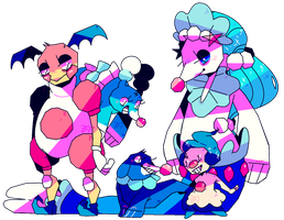 PokeClowns by afroclown