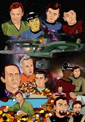 ST The Trouble With Tribbles by dgtrekker