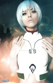 Rei Ayanami by ZOMBIEBITME