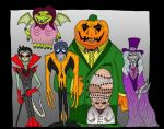 Halloween Gang by Lordwormm