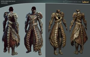 GW 2 Medium 'Orrian' armor set by haikai13