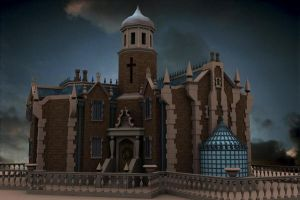 WDW Haunted Mansion by hurlyguy7