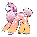 (traded to skellepuns) Evelyn -spilfin- by royalraptors
