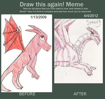 Before and After Meme by starrywolfie