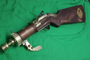 Praying Mantis Blunderbuss 2 by TheJugglingOctopus
