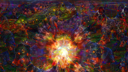 ACID EYE 360 VR - Psychedelic Deep Dream Fractal 2 by schizo604