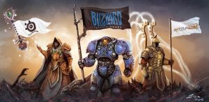 Blizzard Contest Art by Ziom05