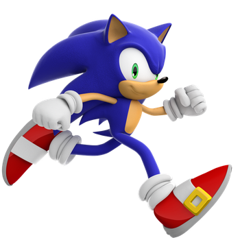 Super Sonic Run - Sonic the Hedgehog by ModernLixes