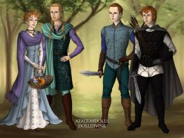 Bards and Brothers by KellySchot