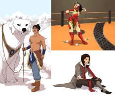 LoK Genderbent by It-is-a-circle