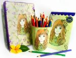 Coloring Book in a Package by madna29