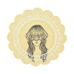 Doily Doll by cuygirl