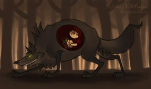 Little Red Riding Hood by tweakfox