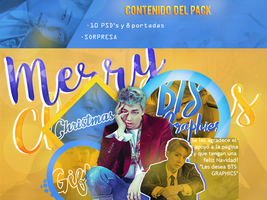 BTS Graphics-Merry Christmas Pack by MoonSober