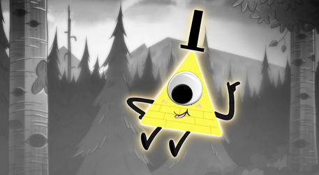 Bill Cipher by narkissa03