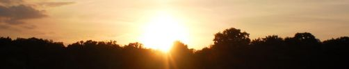 Sunset Panorama Summer Solstice 2014 by steward