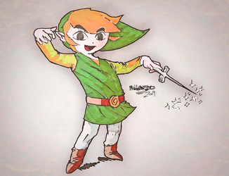 A Toon Link to the Past by Nazota