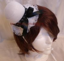Music Gothic lolita mini hat by Wilya12