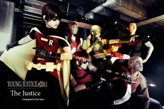 The Young Justice by yllwjckt