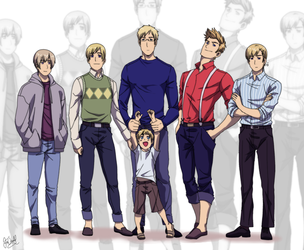 Dads and uncles by Hubedihubbe